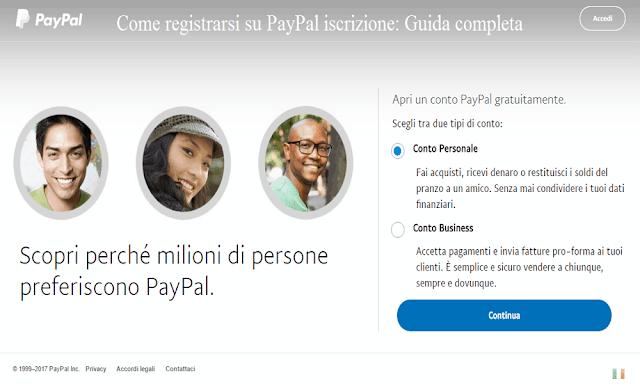 Come registrarsi su PayPal iscrizione: Guida completa
