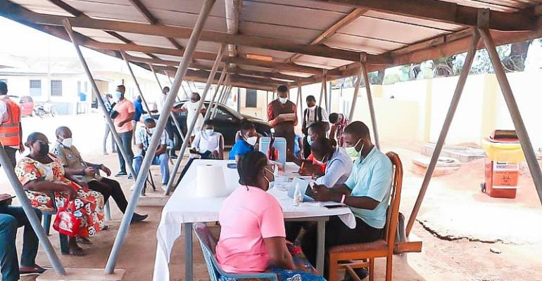 COVID-19: Over 300,000 Ghanaians vaccinated so far — GHS