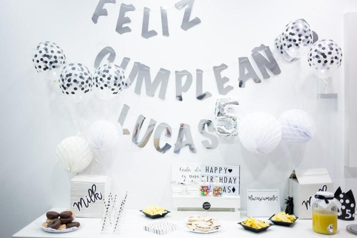 Fiesta cumpleaños Milk