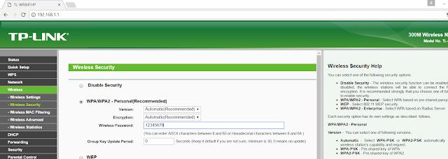 password wifi. IT-borneo.id