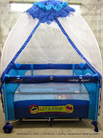 Baby Playpen Pliko BB819XLR Let's Stop Route 99 Service Station - Blue
