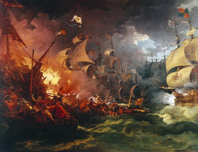 A derrota da armada espanhola