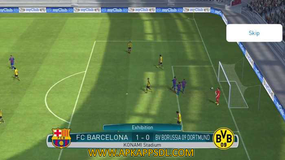 Pro Evolution Soccer 2017 Apk + Data Android Full Latest Version Free Download