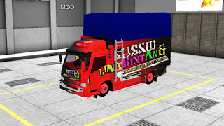 Mitsubishi Truk Canter, Model Truk Bus Simulator Indonesia!