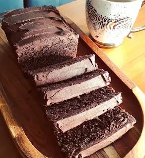 Keto Chocolate Avocado Loaf