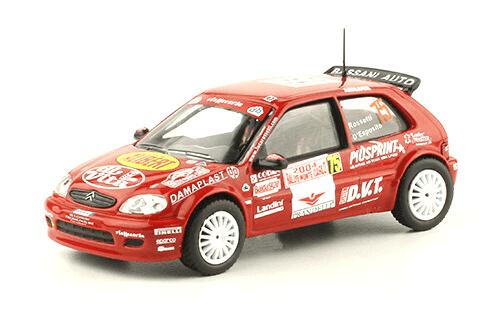 collezione rally monte carlo Citroën Saxo VTS 2004 Luca Rossetti - Dario D'Esposito