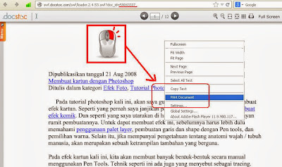 langkah 6 cara download ebook di docstoc