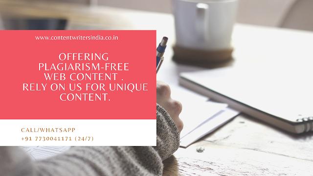 plagiarism free website content