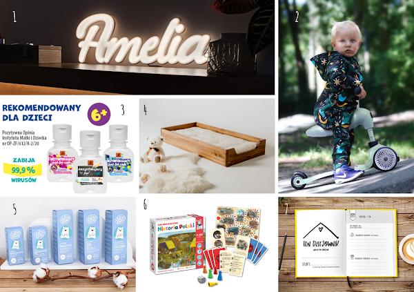 Produkty od polskich marek dla niemowlaka i starszaka. Przegląd perełek i nowości #3