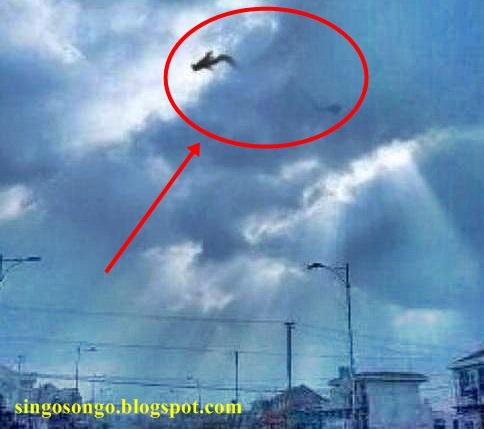 foto penampakan malaikat di dunia