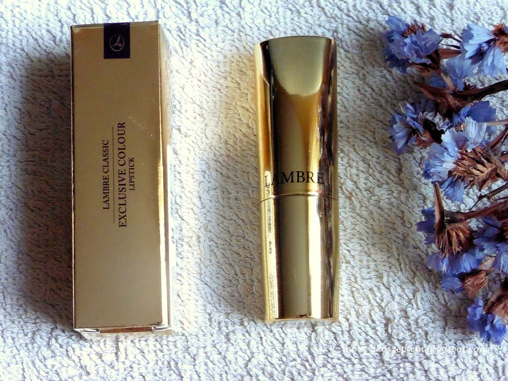 lambre-szminka, lambre-exclusive-colour-lipstick