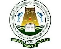 TNJFU Recruitment 2019 09 University Officers Posts