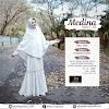 silmi fashion gamis medina cotton white