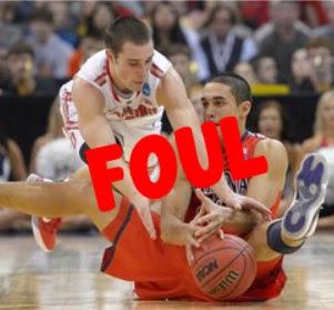peraturan foul dalam  permainan bola basket