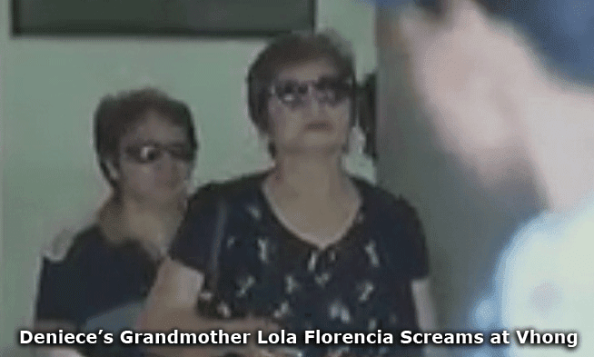 Deniece's Grandmother Lola Florencia Screams at Vhong Navarro