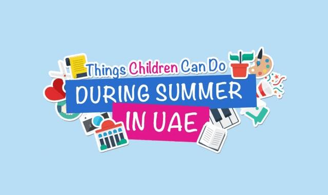 Ihram Kids For Sale Dubai: Summer Activities In Dubai For Kids #infographic