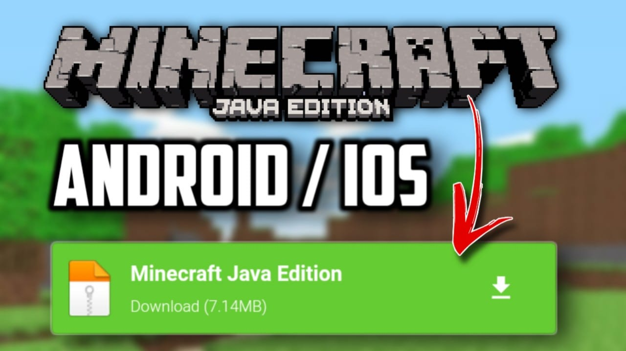 MINECRAFT JAVA EDITION FOR ANDROID DOWNLOAD  MINECRAFT JAVA