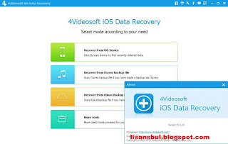 4Videosoft iOS Data Recovery 8.3.10 iphone data recovery ücretsiz, iphone data recovery full, ios data recovery indir, iphone data recovery key