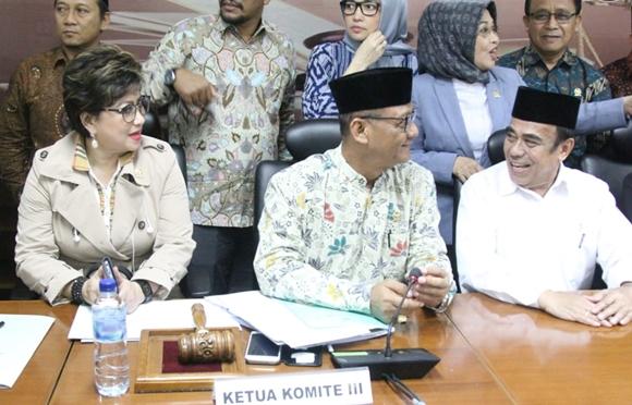 Senator Maya Rumantir Suarakan Aspirasi Umat Islam Sulut