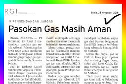 Gas Supply Still Safe