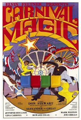 Poster for Al Adamson's CARNIVAL MAGIC!