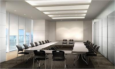 Thiết kế phòng họp lớn, đơn giản