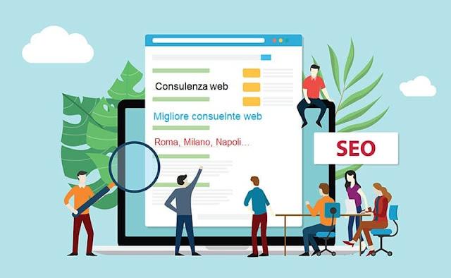 consulente web Roma Milano Napoli