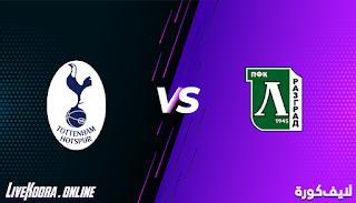 مشاهدة مباراة توتنهام ولودوجوريتس رازجراد بث مباشر بتاريخ 26-11-2020 في الدوري الأوروبي