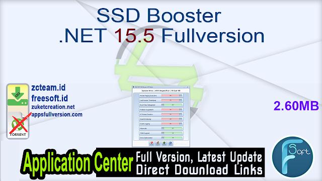SSD Booster .NET 15.5 Fullversion