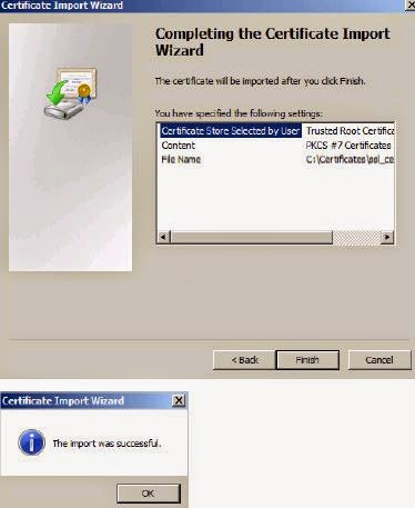 How to install third party SSL Certificate for VMware Horizon View