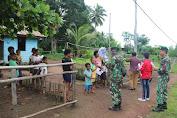 Satgas Yonif 411 Kostrad Gencar Sosialisasi Pencegahan Covid-19 di Perbatasan