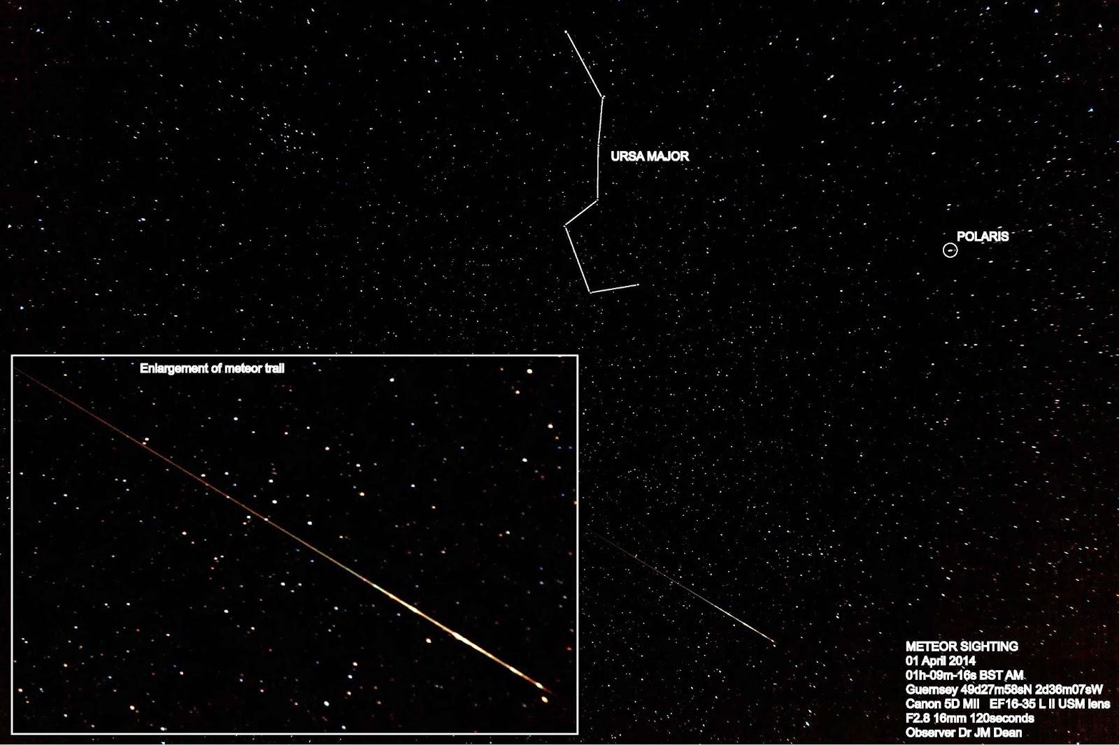 The Latest Worldwide Meteor/Meteorite News: Guernsey, UK