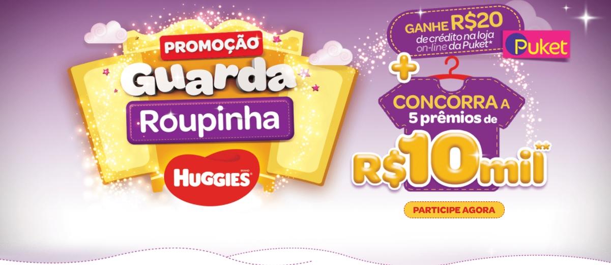Promoção Huggies 2020 Prêmios 10 Mil Reais Como Cadastrar e Participar