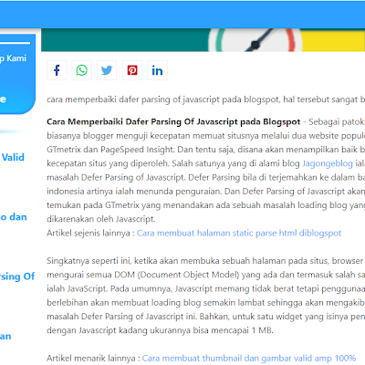 Membuat Table Of Content pada Postingan Blog
