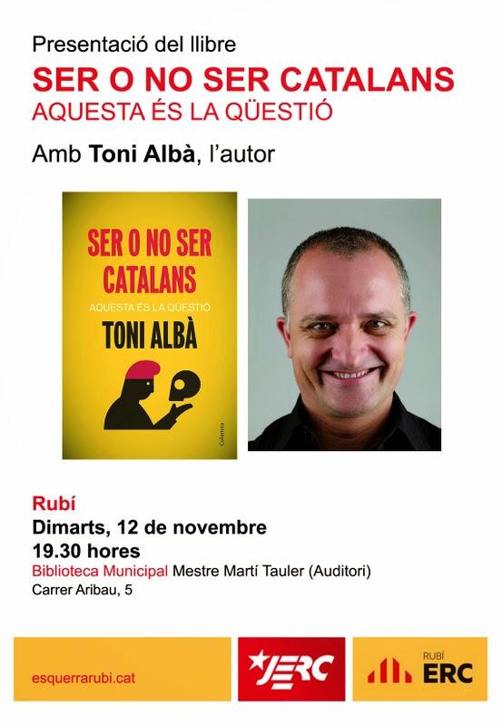 El blog del gran Uribe: Toni Albà y los inmigrantes