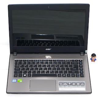 Laptop Baru Acer Aspire e5-476G-58ZV Core i5 di Malang