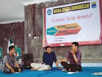 Bijak Dalam Bermedia, Mahasiswa Komunikasi Gelar Diskusi Literasi Cerdas Bermedia