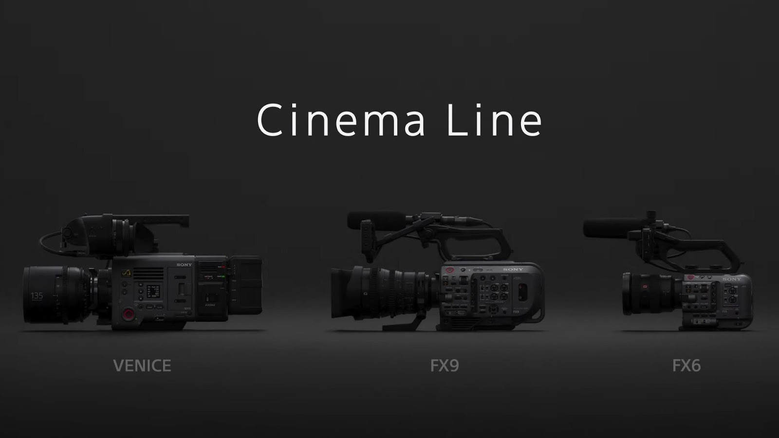Цифровые кинокамеры Sony