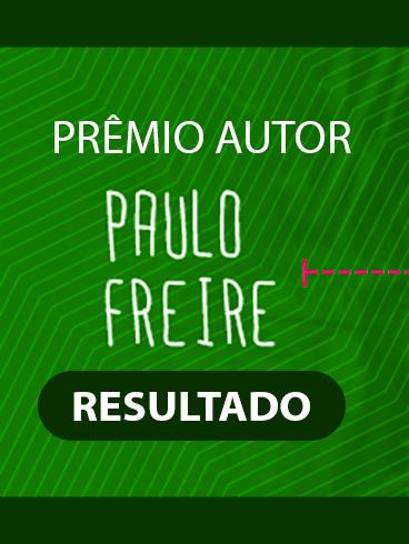 RESULTADO: II Prêmio Autor Paulo Freire – 2020