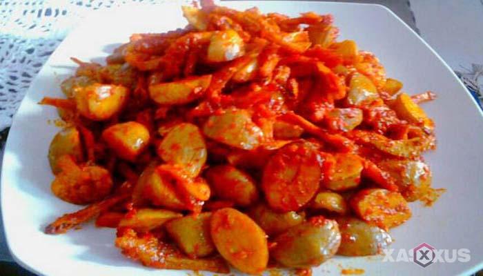 Resep cara membuat sambal goreng jengkol