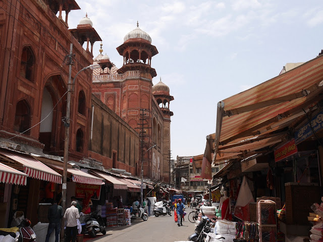 Main Bazaar, Agra