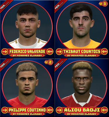PES 2017 Facepack January 2020 by M.Elaraby Facemaker