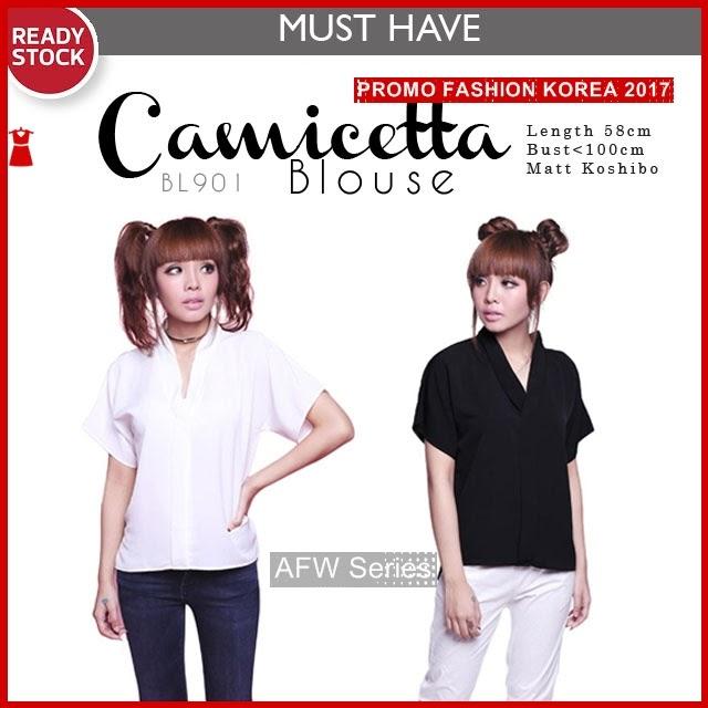 BAMFGW186 Camicetta Baju Atasan Wanita PROMO