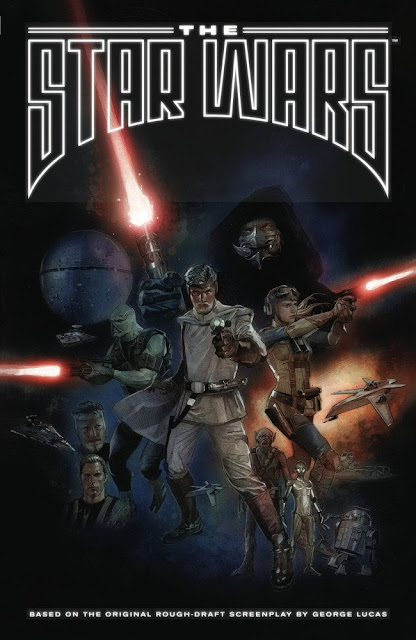 """the star wars"" graphic novel cover by Rinzler"