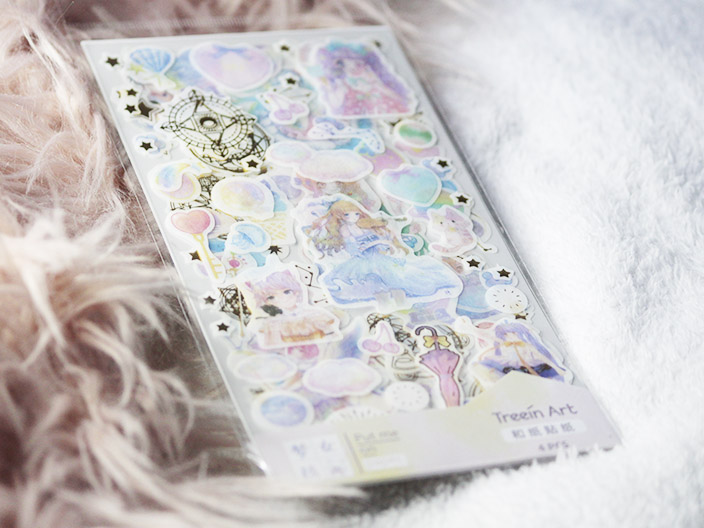 Magical Girl Washi Stickers