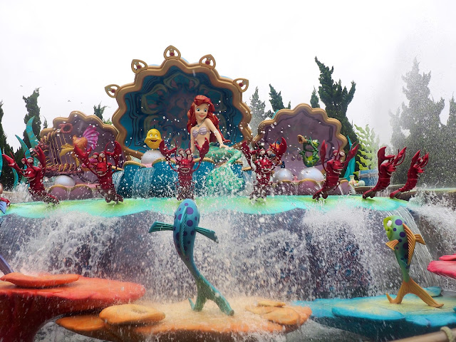 The Little Mermaid in the Voyage to the Crystal Grotto, Shanghai Disneyland, China