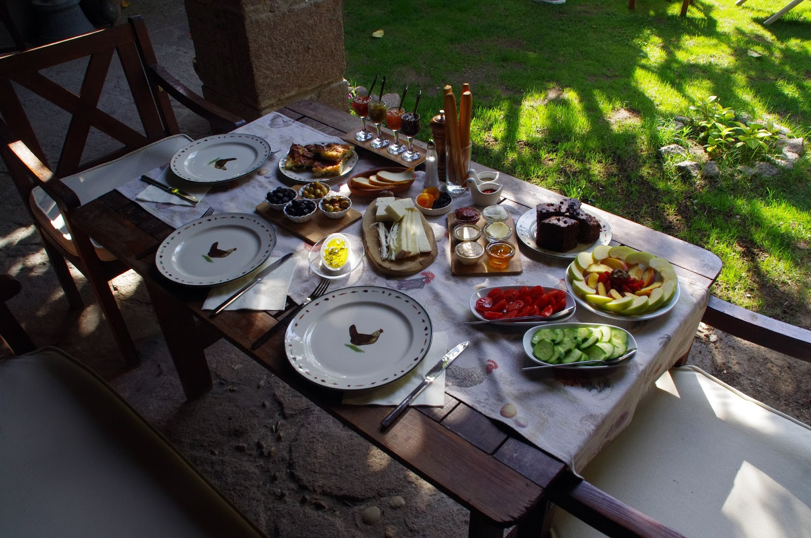 Breakfast at Assos Alarga Boutique Hotel