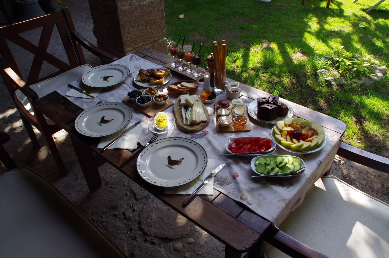 Breakfast at Assos Alarga Boutique Hotel