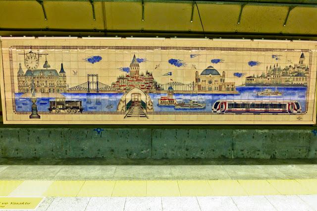 Metro del Bósforo, Estambul