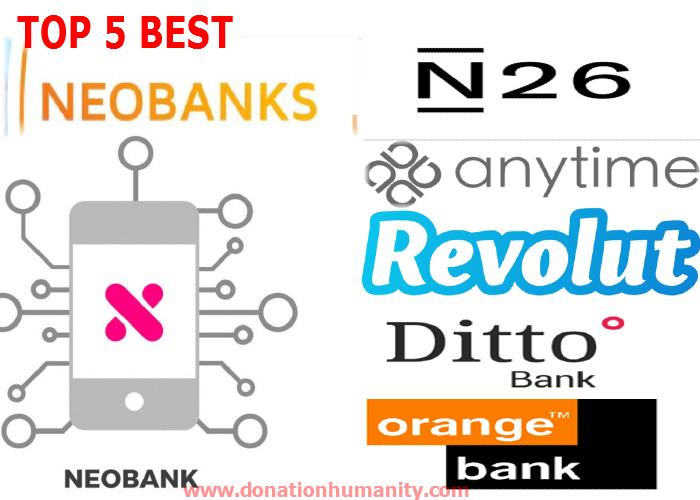 Review) The Best Top 5 Neobanks for individuals in 2019